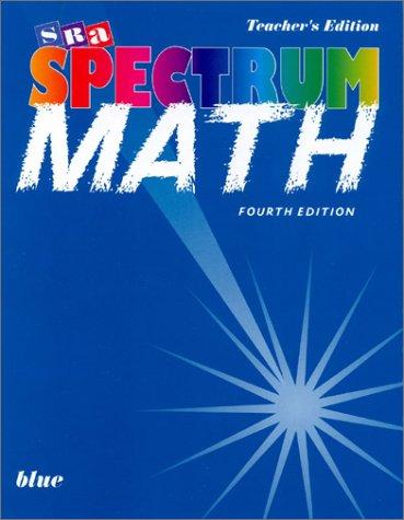 9780026875554: Spectrum Mathematics - Blue Book Level 7
