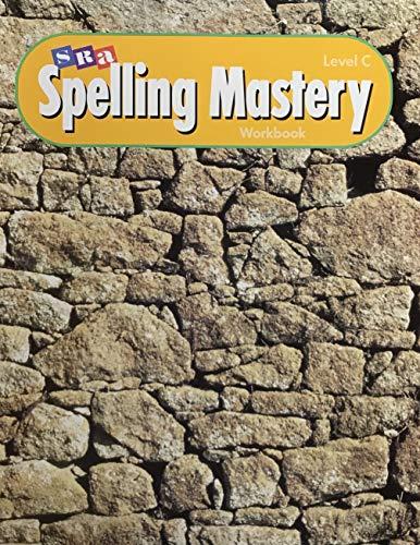 9780026876254: SRA Spelling Mastery Workbook Level C