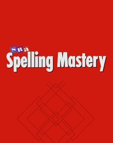 9780026876353: Spelling Mastery Level A, Teacher Presentation Book
