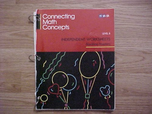 9780026878418: Connecting Math Concepts: Independent Worksheets - Level B