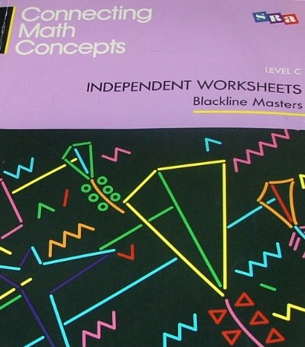 9780026878425: Connecting Math Concepts: Independent Worksheets - Level C