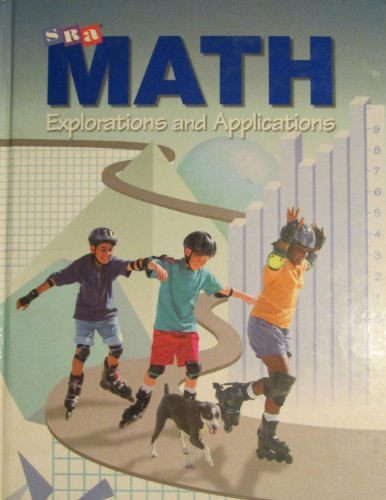 9780026878555: SRA Math Explorations and Applications, Level 4, Student Edition