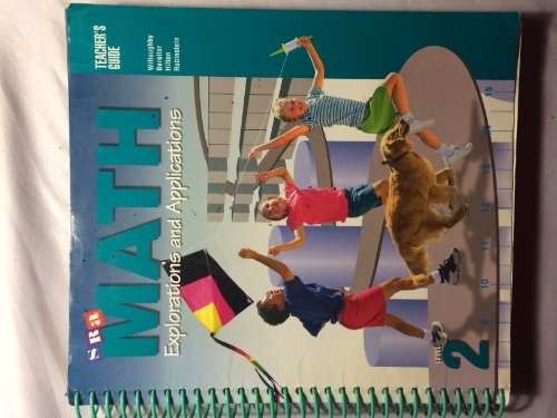 9780026878623: SRA Math Explorations and Applications, Level 2 Teacher's Guide