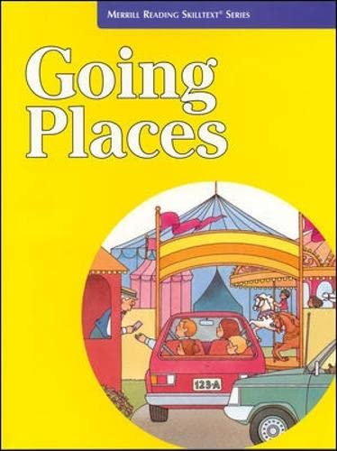 9780026878692: Going Places (Merrill Reading Skilltext Series)
