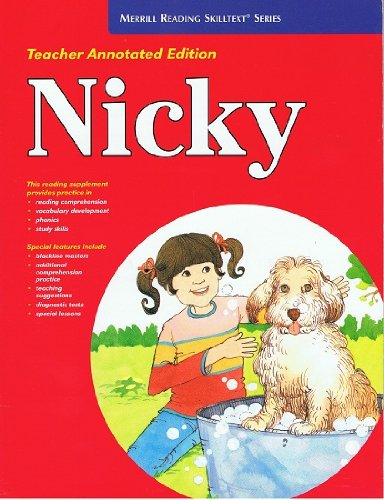 9780026878852: Nicky (Merrill Reading Skilltext Series)