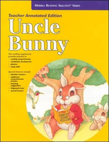 9780026878869: Uncle Bunny Teacher's Edition (Merrill Reading Skilltext Series) (Spanish Edition)