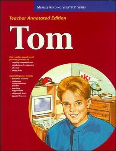 9780026878906: Tom Teacher's Edition (Merrill Reading Skilltext Series)