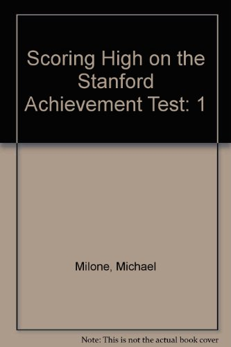 9780026878937: Scoring High on the Stanford Achievement Test