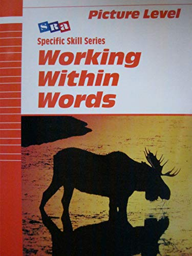 9780026879194: SRA Specific Skill: Working Within Words, Picture Level