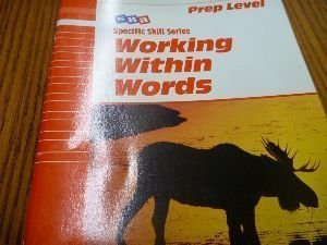 9780026879200: SRA: Working Within Words, Prep Level