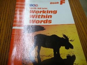 9780026879262: SRA, Specific Skill Series: Working Within Words, Book F