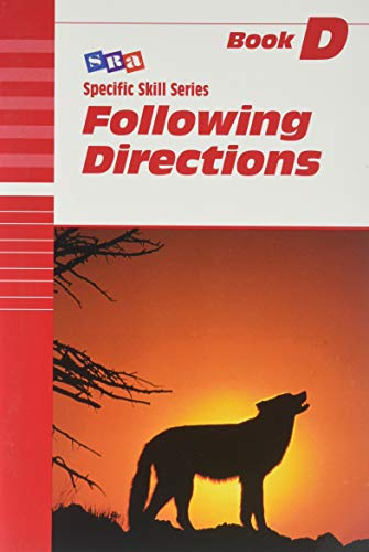9780026879347: SRA Specific Skills Series: Following Directions Book D