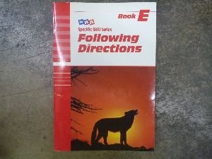9780026879354: Following Directions (Specific Skills Series, Book E)