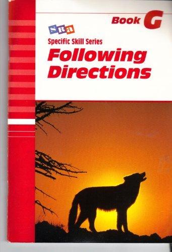 9780026879378: Sra Skill Series: Sss Lv G Following Directions