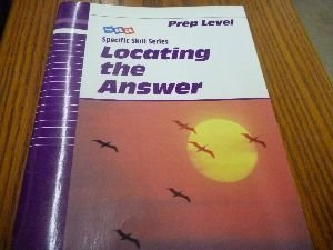 9780026879507: Sra Skill Series: Sss Prep Locating the Answer