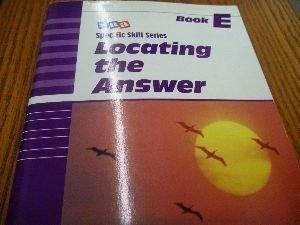 9780026879552: SRA Specific Skill Series: Locating the Answer Book E