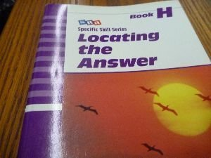 Locating the Answer: Book H: Boning, Richard A.
