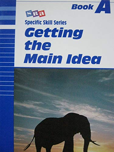 9780026879712: Getting the Main Idea (Specific Skills Series) Book A
