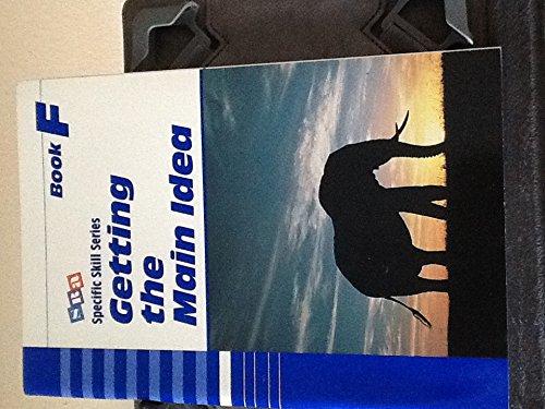 9780026879767: Getting the Main Idea, Book F