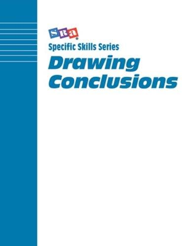 9780026879873: Drawing Conclusions: Level G (Specific Skills Series)