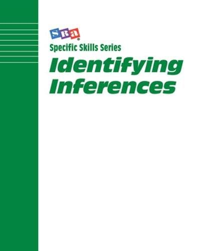 9780026880046: Specific Skill Series: Identifying Inferences Book D