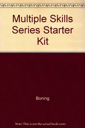 9780026883863: Multiple Skills Series Starter Kit (9-Volume Set Including Teachers Manual)