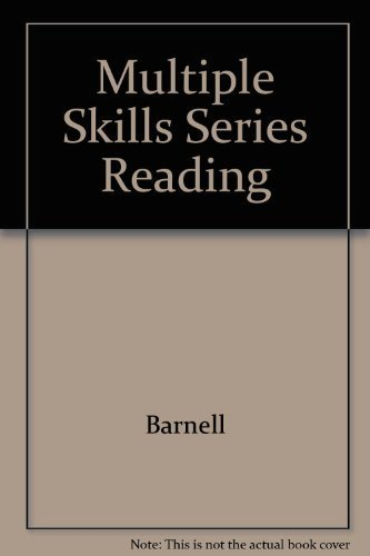 9780026883979: Multiple Skills Series Reading (Teacher's Edition)