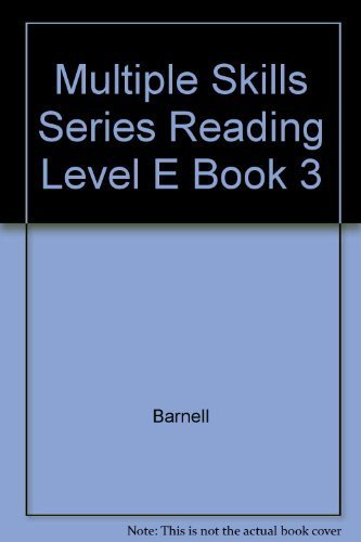 Multiple Skills Series Reading Level E Book: Barnell; Loft