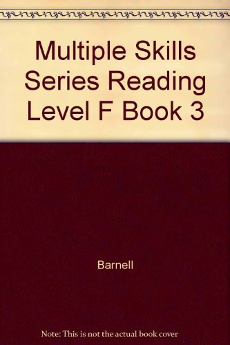 9780026884303: Multiple Skills Series Reading Level F Book 3