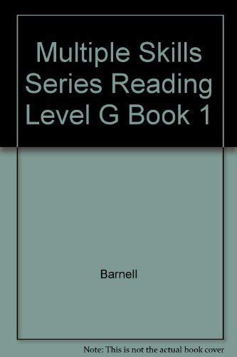 9780026884327: Multiple Skills Series Reading Level G Book 1