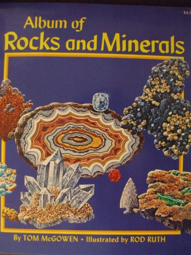 9780026885041: Album of Rocks and Minerals