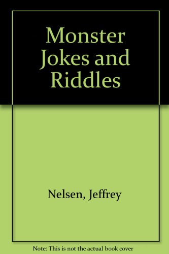 9780026890694: Monster Jokes and Riddles