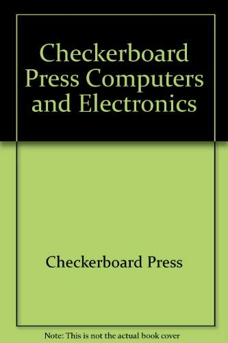 9780026892001: Checkerboard Press Computers and Electronics