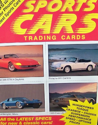 9780026892292: Sports Cars (Automobile Flash Cards Books)