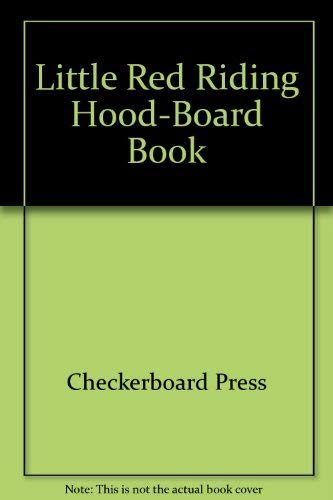 9780026894562: Little Red Riding Hood-Board Book