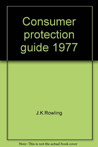 9780026975001: Consumer protection guide 1977