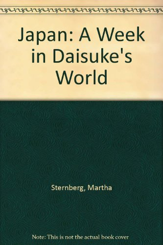 9780027055603: Japan: A Week in Daisuke's Land