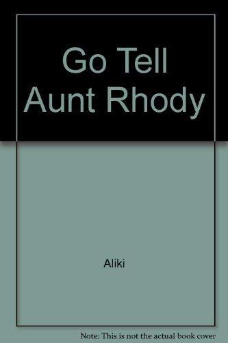 9780027119206: Go Tell Aunt Rhody
