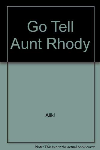 9780027119206: Go Tell Aunt Rhody