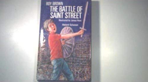 9780027149203: The Battle of Saint Street