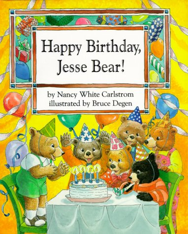 9780027172775: Happy Birthday, Jesse Bear!