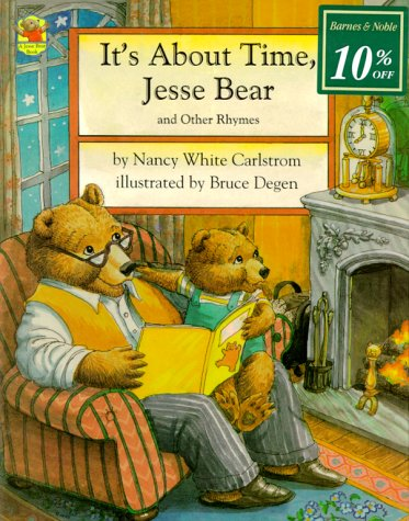 9780027173512: It's About Time, Jesse Bear: And Other Rhymes