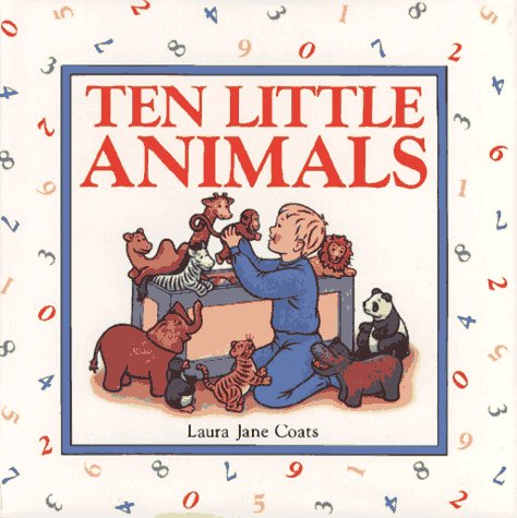 9780027190540: TEN LITTLE ANIMALS