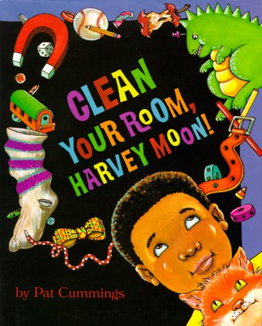 9780027255119: Clean Your Room, Harvey Moon