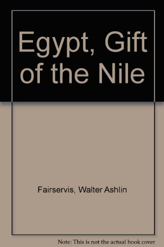 9780027343601: Egypt, Gift of the Nile
