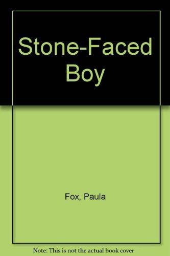 9780027355703: The STONE FACED BOY