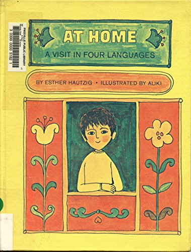 9780027434705: At Home: A Visit in Four Languages