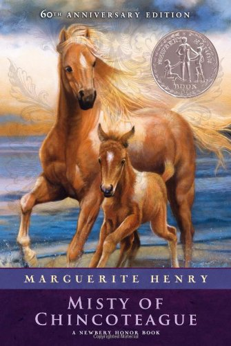 Misty of Chincoteague (0027436225) by Marguerite Henry