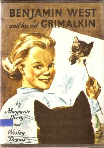 9780027436600: Benjamin West and His Cat Grimalkin