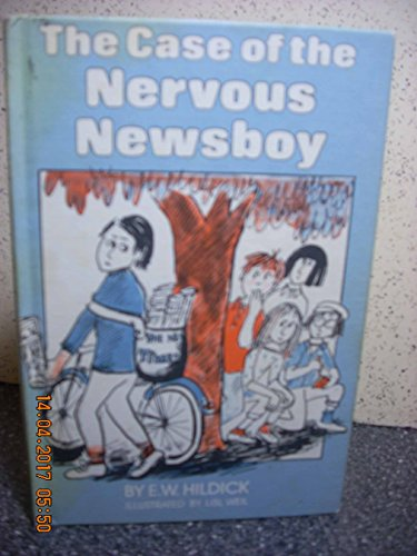9780027437904: The Case of the Nervous Newsboy (Mcgurk Mystery)
